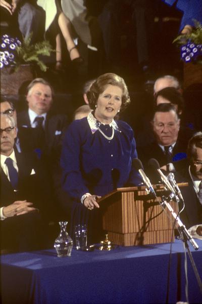 С приходом на пост премьер-министра занятость Маргарет выросла в разы