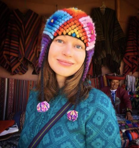 Актриса театра и кино Ирина Безрукова на отдыхе в Перу