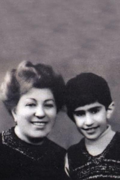 Николай Цискаридзе с мамой