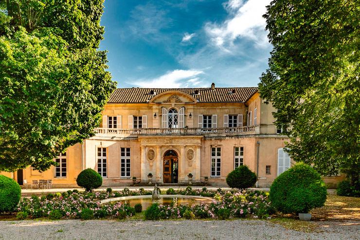Торжество прошло в особняке XVIII века Le Chateau de Tourreau