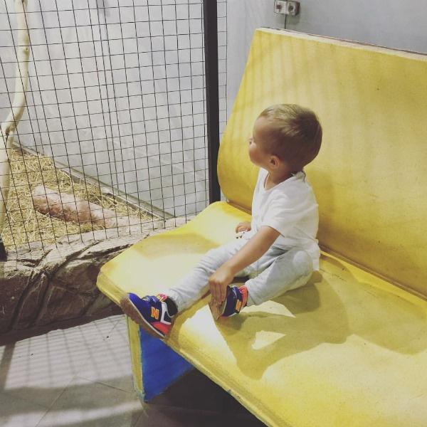 Федор проводит много времени и с мамой, и с папой