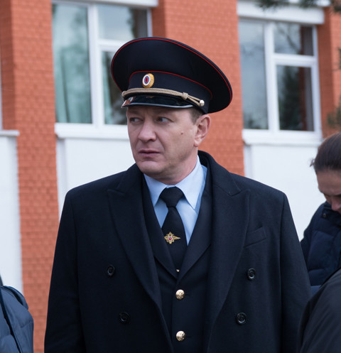Марат Башаров в образе полковника Кораблева
