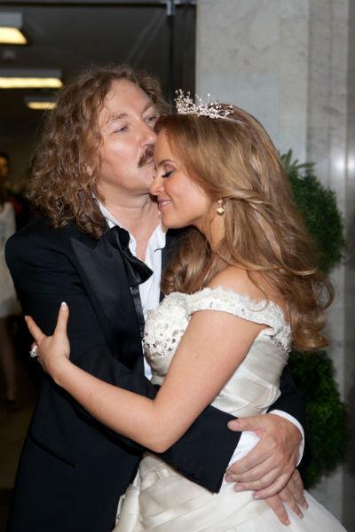 Пара оформила свои отношения в 2010 году