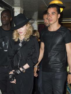 Мадонна и Тимор Стеффенсон