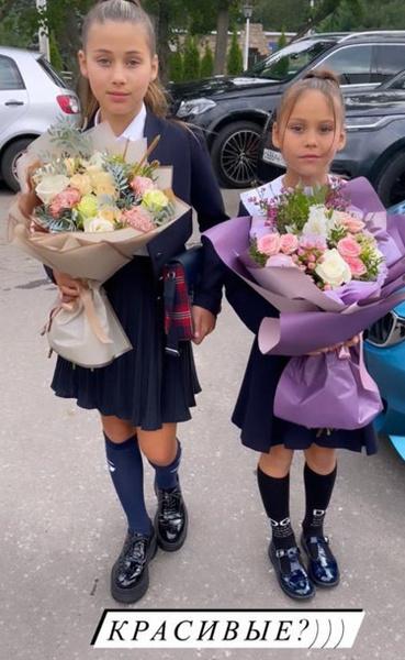 Дочери Оксаны Самойловой, давно ставшие звездами Instagram