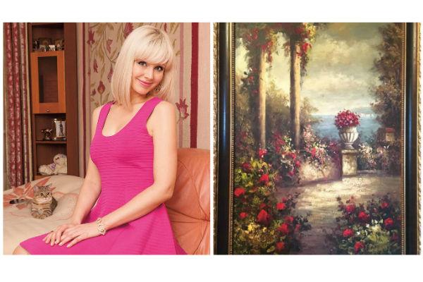 Картина висит в спальне Натали и навевает приятные воспоминания