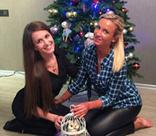 Ольга Бузова встретила Рождество с семьей