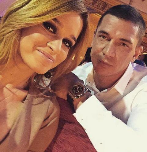 Ведущая телепроекта «Дом-2» Ксения Бородина и ее супруг Курбан Омаров