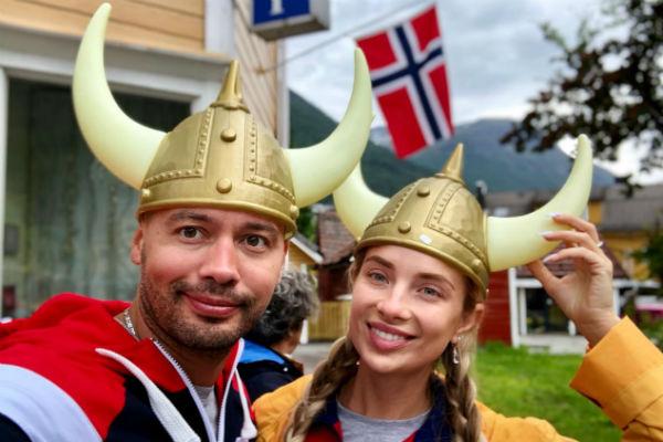 Влюбленные давно мечтали посетить Норвегию