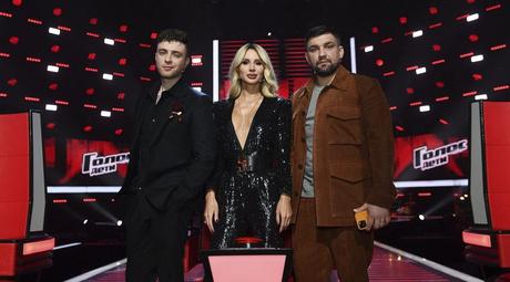 Наставники шоу «Голос. Дети» Егор Крид, Светлана Лобода и Баста