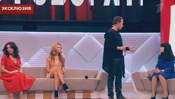 Ольга Мартынова тоже появилась в студии программы