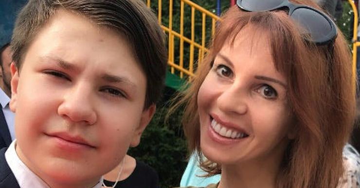 Наталья Штурм встретилась с сыном после скандала