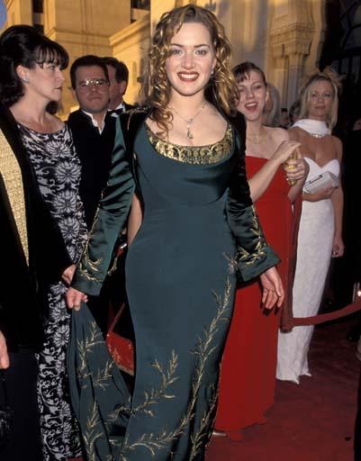 Когда-то Кейт Уинслет не могла похвастаться отменным вкусом. Может быть, поэтому «Оскара» за «Титаник» она не получила
