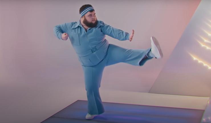 Дмитрий в клипе на песню