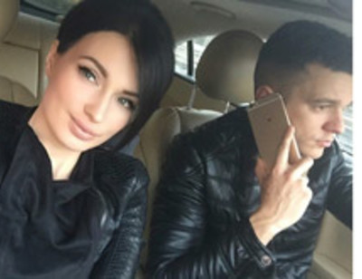 Евгения Феофилактова спасает мужа, попавшего в аварию