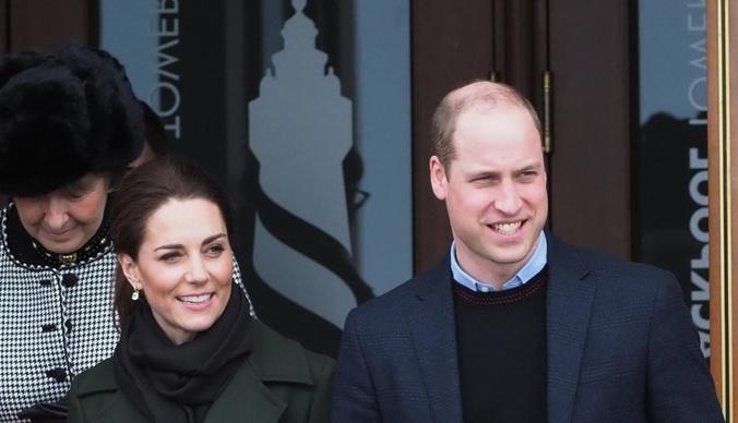 Кейт Миддлтон и принц Уильям едва не пострадали во время полета