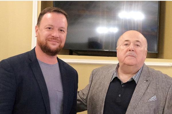 Леонид Ошарин и Александр Калягин