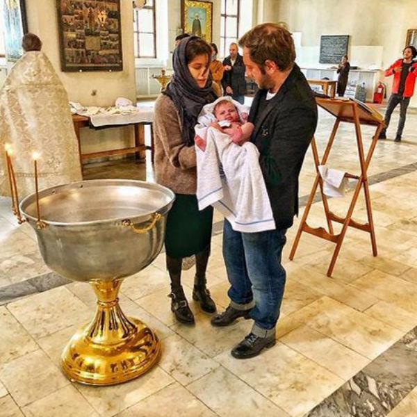 Фото с крестин