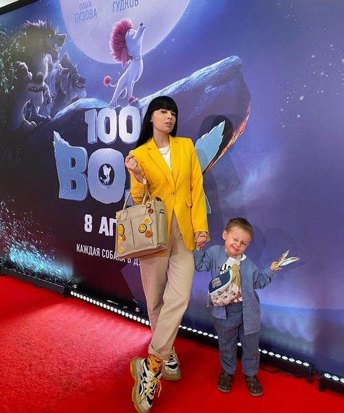 Нелли Ермолаева с сыном