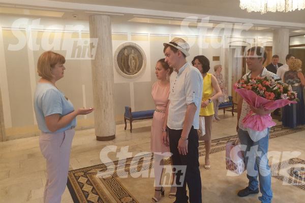 Жених и невеста пригласили на праздник друзей и родственников