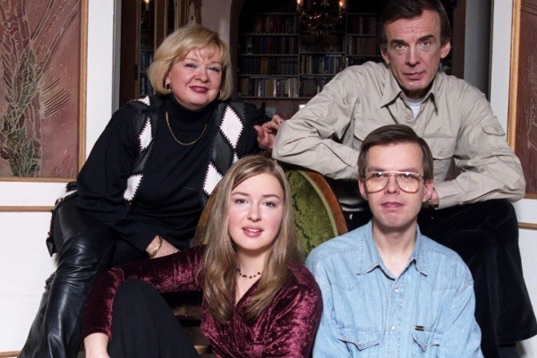 Георгий Тараторкин с семьей