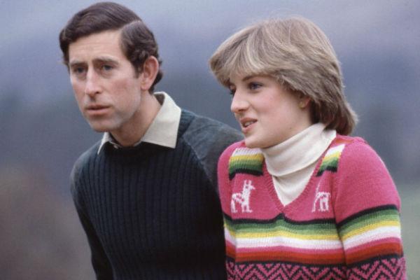 Принц Чарльз с супругой принцессой Дианой