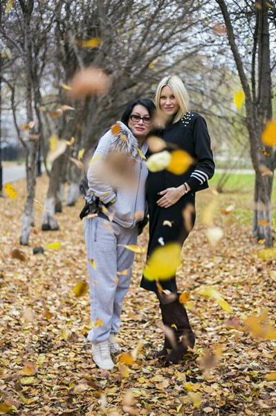 Элина и ее мама Елена