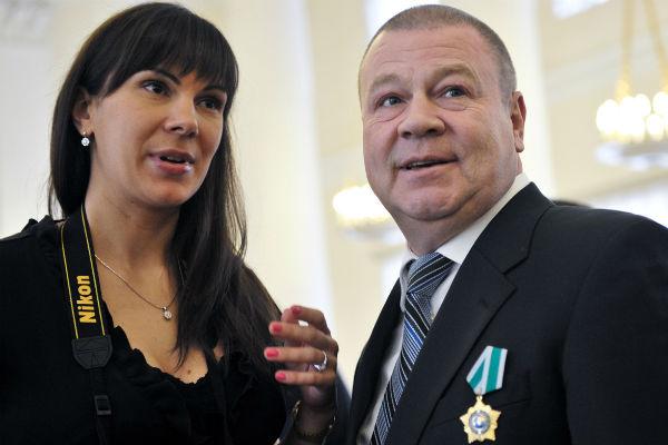 Сергей Селин с супругой Анной