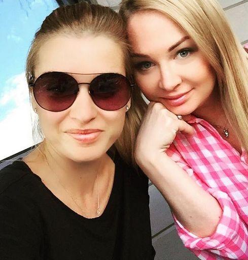 Дарья Пынзарь и Ксения Бородина