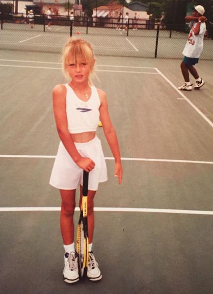 Мария начала заниматься теннисом, когда ей было четыре года