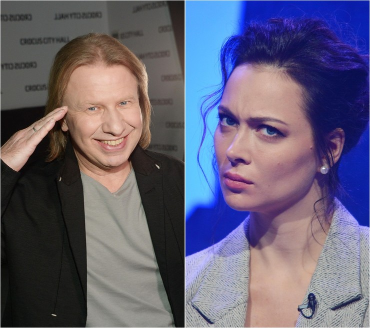 Виктор Дробыш и Настасья Самбурская