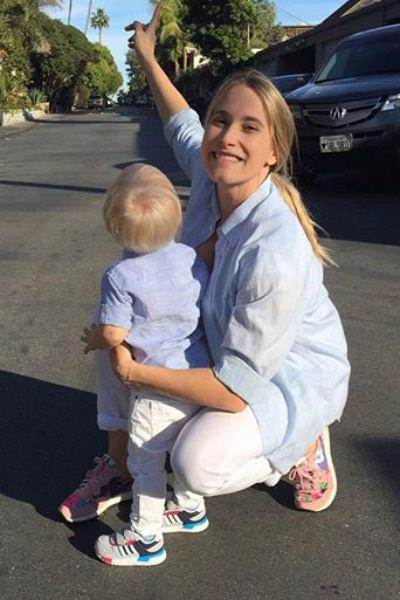 Марика с сыном