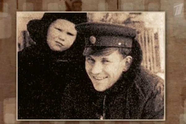 Гуськов с отцом