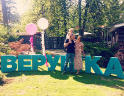 Тата Бондарчук устроила дочери день рождения мечты