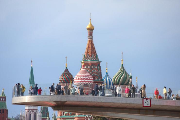 В Москве на майские праздники обещают