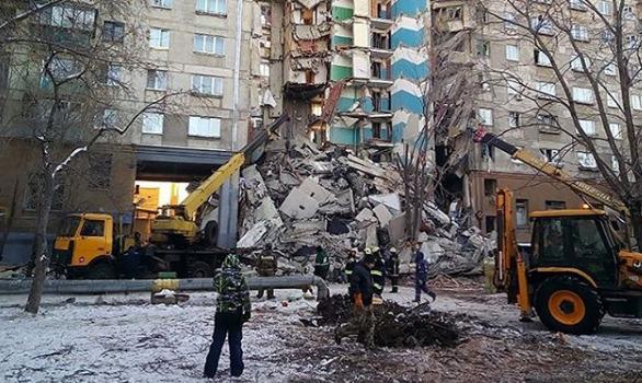 Взрыв бытового газа произошел ранним утром 31 декабря
