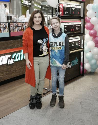 Анастасия Денисова с сыном Юрием