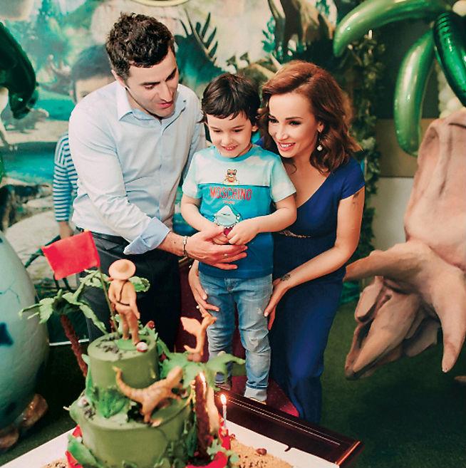 Экс-супруги воспитывают 5-летнего сына Соломона