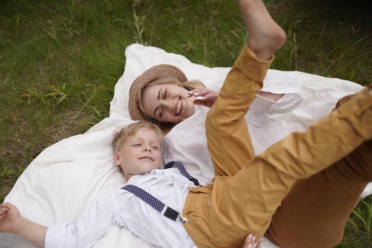 Шесть лет назад у Анны родился сын Александр
