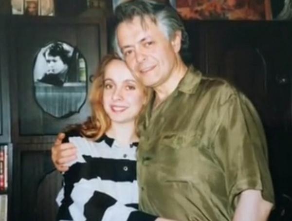 Алексей Шейнин с дочерью Евгенией