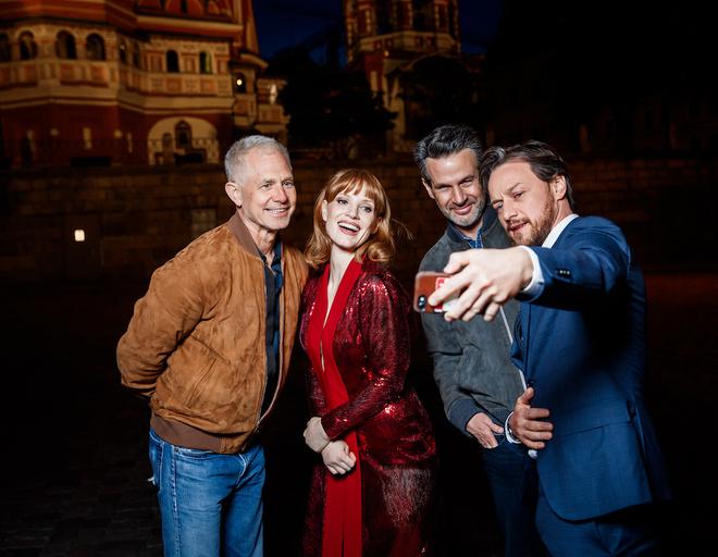 Прошлой ночью компания прогулялась по Красной площади
