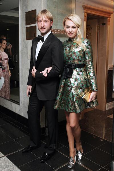 Яна Рудковская вышла замуж за Евгения Плющенко в 2009-м