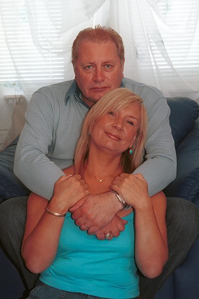 Артист с женой Лидией
