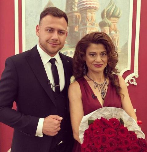 Валерий Блюменкранц с мамой Еленой Мужевской