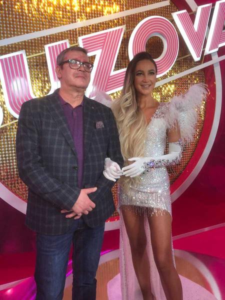 Ольга с папой