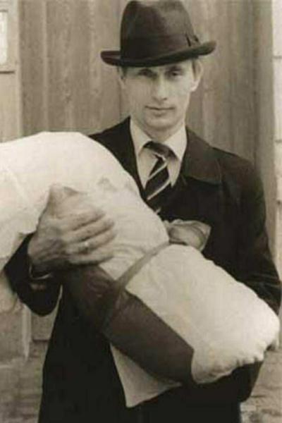 В 1985-м у Владимира Путина родилась первая дочка