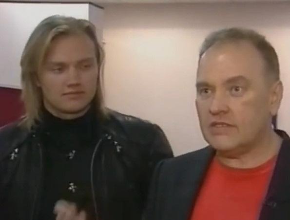 Григорий Костюк с отцом