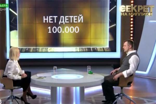 Александр Носик был предельно откровенен, но на вопрос на один миллион рублей отвечать отказался
