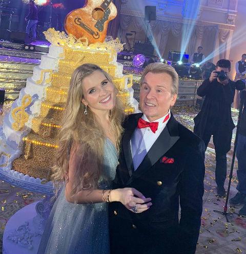 Александр Малинин с дочерью