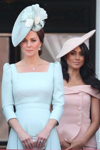 Кейт Миддлтон быстро нашла общий язык с супругой принца Гарри